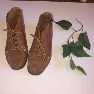 Bass leather moccasins